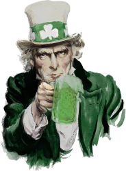 st patricks day  uncle sam | Artistshot