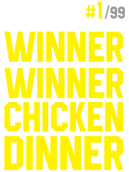 Custom Winner Winner Chicken Dinner Pubg T Shirt By