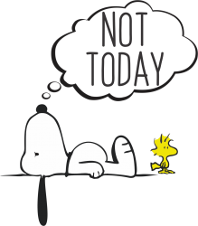 1754738057c1 Not Today Snoopy T-shirt Designed By Bigdlab