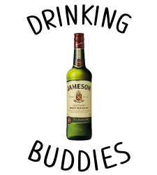 Drinking Buddies Milk and Jameson Whiskey | Artistshot