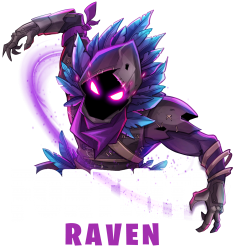 fortnite raven | Artistshot