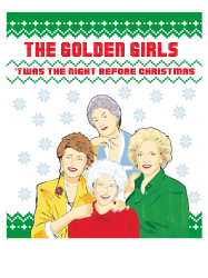 golden girls  may all your christmas | Artistshot
