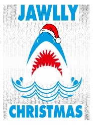 jaws christmas | Artistshot