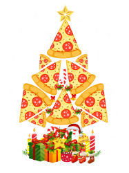 pizza christmas sweatshirt | Artistshot