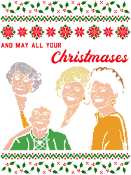 Golden Girls Christmas | Artistshot