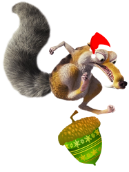 ariscratle and christmas acorn | Artistshot