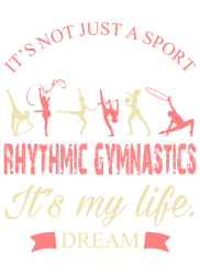Rhythmic gymnastics - Motivational | Artistshot