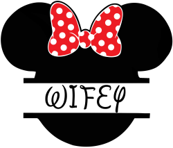 22932320d6b3cd Wifey Minnie Mouse For Light T-shirt Designed By Sengul