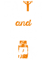 faith weights and protein shakes | Artistshot