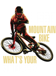 i ride mountain bike | Artistshot
