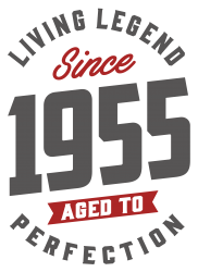 Since 1955 Aged To Perfection | Artistshot
