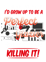 i never dreamed i'd grow up to be a perfect glazies but here i am kill | Artistshot