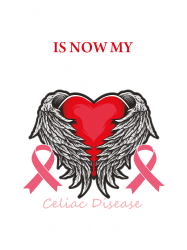 my hero is now my angel celiac disease awareness | Artistshot