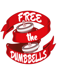 free the dumbbells | Artistshot