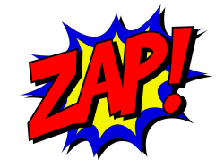 zap comic book fight | Artistshot