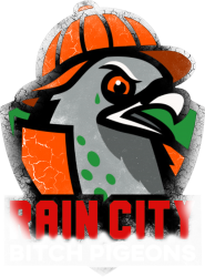 rain city   bitch pigeons | Artistshot