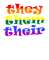 They Them Their   Lgbt T Shirt T-shirt