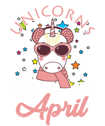 Unicorns Are Born In April T Shirt T-shirt