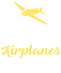 7df050e9 Men S Still Plays With Airplanes Flying Aviator Pilot T Shirt Small Ke  Zipper Hoodie Designed