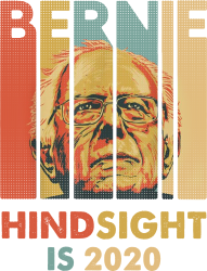 b4aac91a Bernie Sanders President Hindsight Is 2020 Mousepad Designed By Blqs Apparel