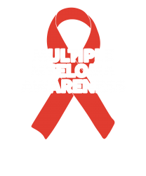 2bd4009b Multiple Myeloma Tee Awareness Ribbon Walk T Shirt T-shirt Designed By Hung