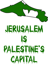 Jerusalem Is Palestine's Capital T-shirt