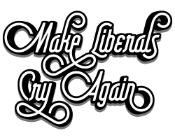 Make Liberals Cry Again Lettering T-shirt