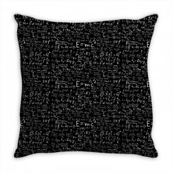 science albert einstein formula mathematics physics special relativity Throw Pillow | Artistshot