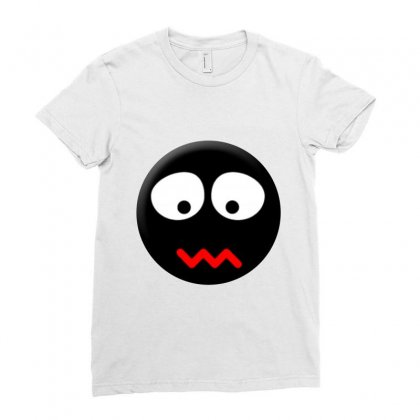 Emoticon Ladies Fitted T-shirt Designed By @lya