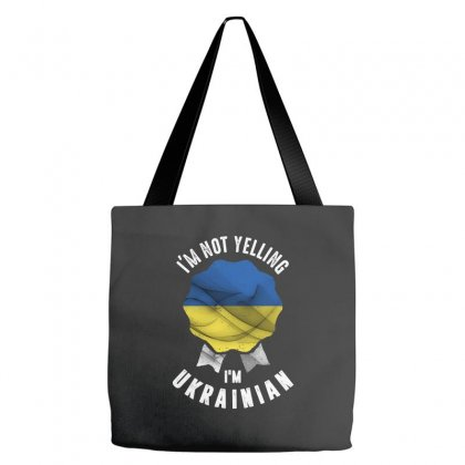 I'm Ukrainian Tote Bags Designed By Chris Ceconello