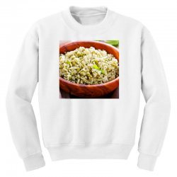 Plate of rise Youth Sweatshirt | Artistshot
