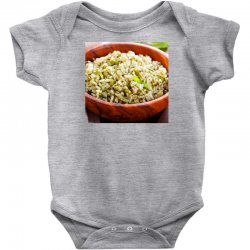 Plate of rise Baby Bodysuit | Artistshot