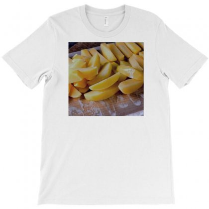 Chipsy Potatto With Flouer T-shirt Designed By Hossam.elsherief