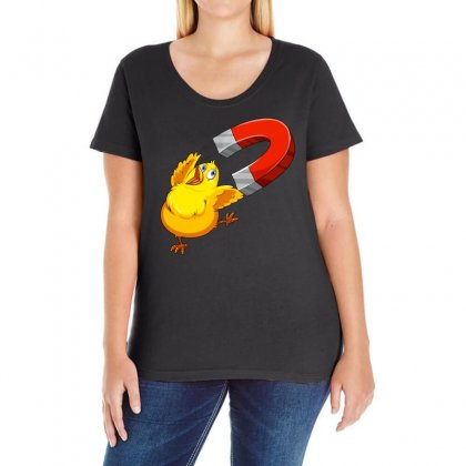 Chick Magnet Ladies Curvy T-shirt Designed By Omer Acar
