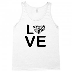 dog heart dog passion love red animals cool Tank Top | Artistshot