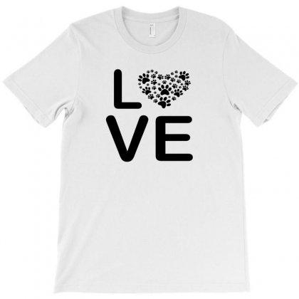 Dog Heart Dog Passion Love Red Animals Cool T-shirt Designed By Badaudesign