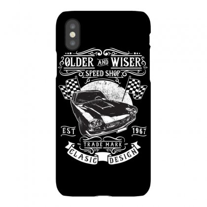 Older And Wiser Fathers Day Iphonex Case Designed By Tiococacola