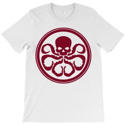 Captain America Hydra T-shirt Designed By Shoptee