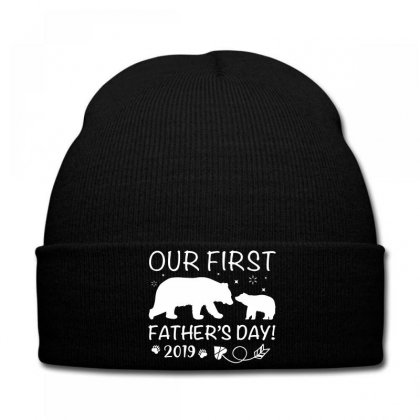 Our First Father's Day 2019 Family Matching - Empty For Your Name Knit Cap Designed By Toweroflandrose