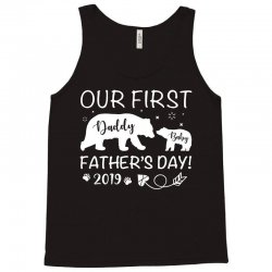 Our First Father's Day 2019 Family Matching Tank Top | Artistshot