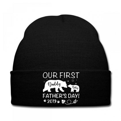 Our First Father's Day 2019 Family Matching Knit Cap Designed By Toweroflandrose