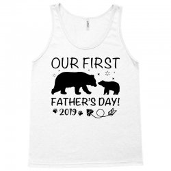 Our First Father's Day 2019 Family Matching - Empty for Your Name Tank Top | Artistshot
