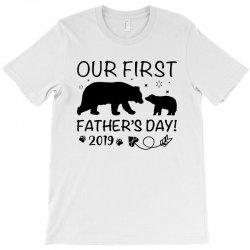 Our First Father's Day 2019 Family Matching - Empty for Your Name T-Shirt | Artistshot