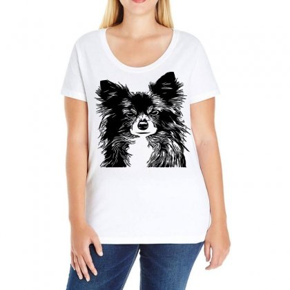 Dog Pet Canine Veterinarian Puppy Ladies Curvy T-shirt Designed By Salmanaz