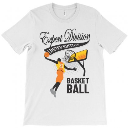 Basketball Expert Division T-shirt Designed By Cidolopez