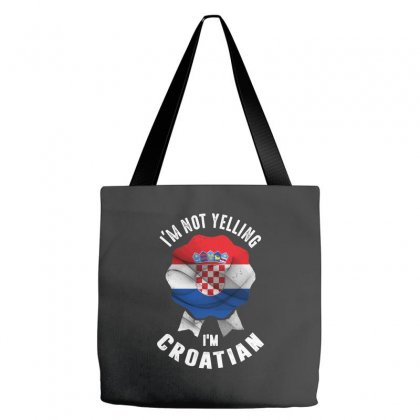 I'm Croatian Tote Bags Designed By Chris Ceconello