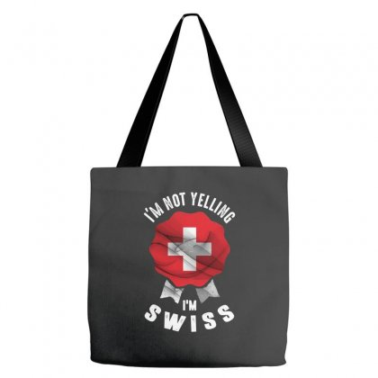 I'm Swiss Tote Bags Designed By Chris Ceconello