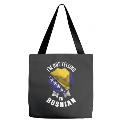 I'm Bosnian Tote Bags Designed By Chris Ceconello