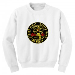 cobra kai   the karate kid Youth Sweatshirt | Artistshot