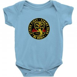 cobra kai   the karate kid Baby Bodysuit | Artistshot